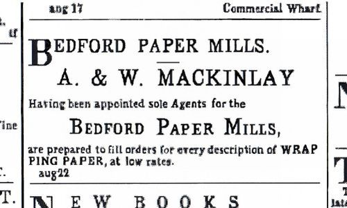 [Mackinlay Advertisement]